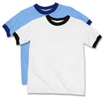 Anvil Youth Ringer T-shirt