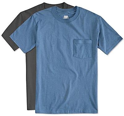 Hanes Beefy Pocket T-shirt