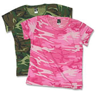 Code 5 Ladies Camo T-shirt