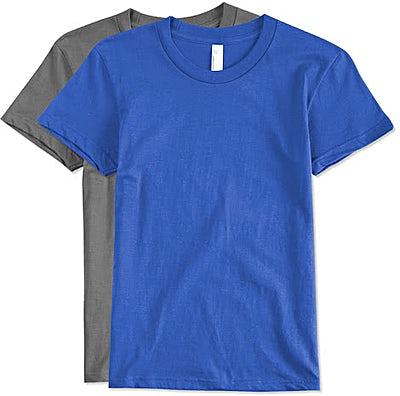 Canada - American Apparel USA-Made Juniors Jersey T-shirt