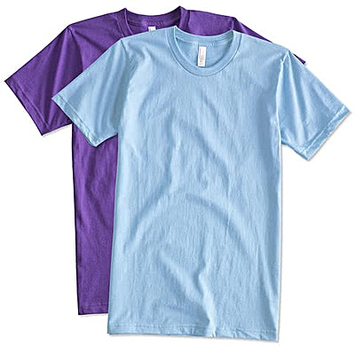 Canada - American Apparel USA-Made Jersey T-shirt