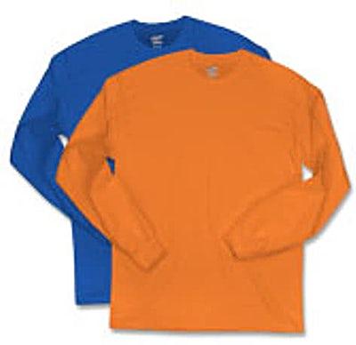 Canada - Hanes Long Sleeve Tagless T-shirt