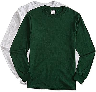 Jerzees 100% Cotton Long Sleeve T-shirt