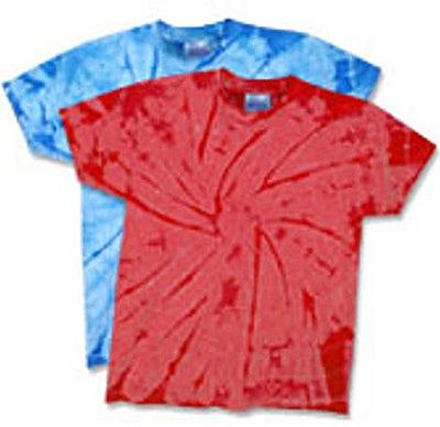 Hanes Youth 100% Cotton Tonal Tie Dye T