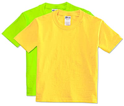 Jerzees Youth 50/50 T-shirt