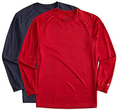 Badger B-Dry Long Sleeve Performance Shirt