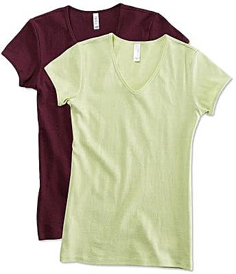 Bella + Canvas Juniors V-Neck T-shirt
