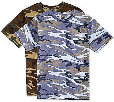 Code Five Camo T-shirt