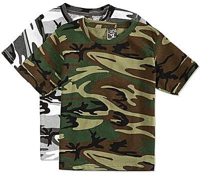 Code 5 Youth Camo T-shirt