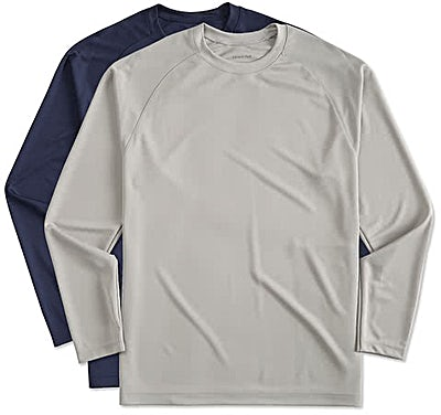 Sport-Tek Long Sleeve Raglan Performance Shirt