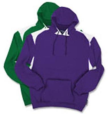 Sport-Tek Colorblock Hooded Sweatshirt