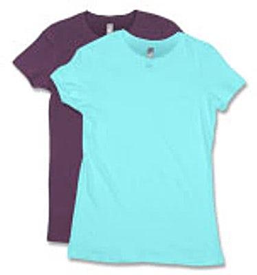 Next Level Juniors Lightweight T-shirt