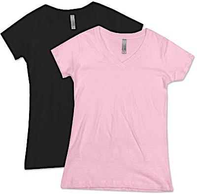 Next Level Juniors Lightweight V-Neck T-shirt