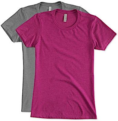 Next Level Women's Slim Fit Jersey Blend T-shirt