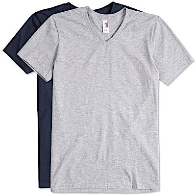 Anvil Jersey V-Neck T-shirt