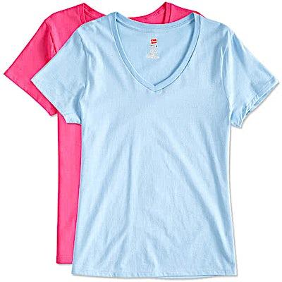 Hanes Women's Perfect V-Neck T-shirt