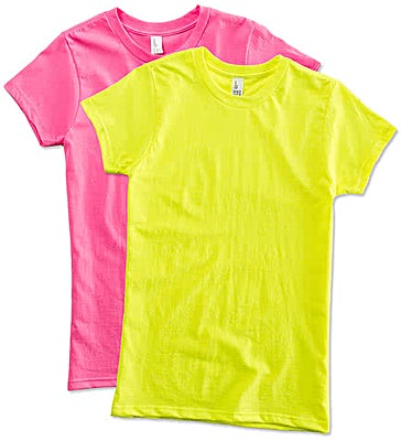 District Juniors Neon T-shirt
