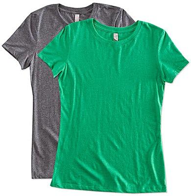 Next Level Women's Slim Fit Tri-Blend T-shirt
