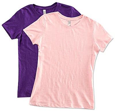 Next Level Juniors Slub T-shirt