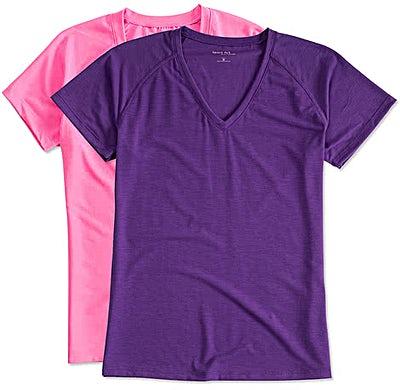 Sport-Tek Women's Ultimate V-Neck Performance Shirt