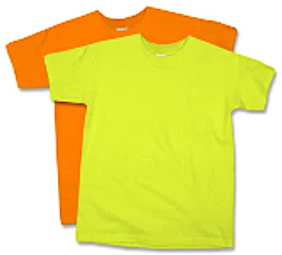 Anvil Youth Neon T-shirt