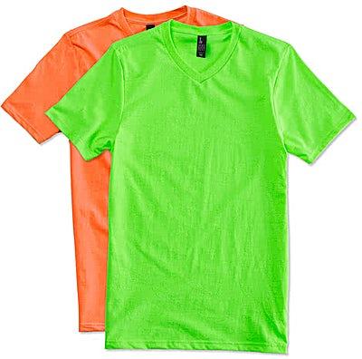 District Neon V-Neck T-shirt