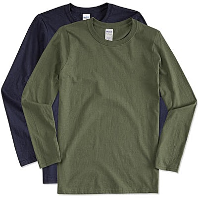 Gildan Softstyle Long Sleeve Jersey T-shirt