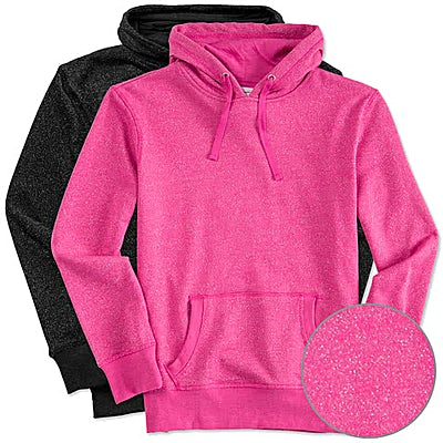 J. America Women's Glitter Pullover Hoodie