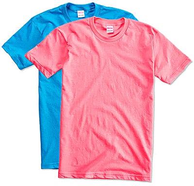 American Apparel USA-Made Neon 50/50 T-shirt
