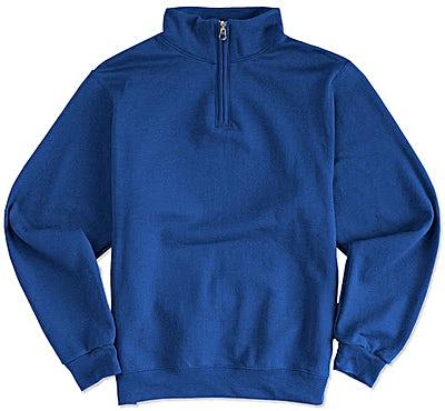 Jerzees Nublend Quarter Zip Sweatshirt