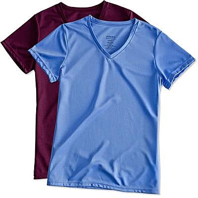 Augusta Ladies V-Neck Performance Shirt