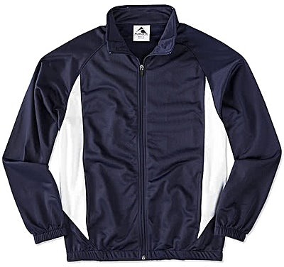 Augusta Colorblock Tricot Warm-Up Jacket