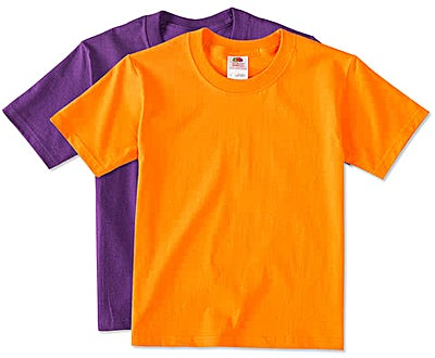 Fruit of the Loom Youth 100% Cotton T-shirt