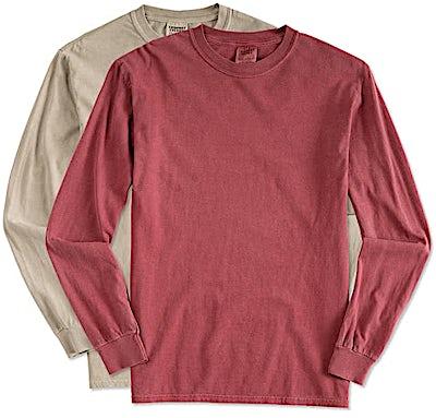 Comfort Colors 100% Cotton Long Sleeve Shirt