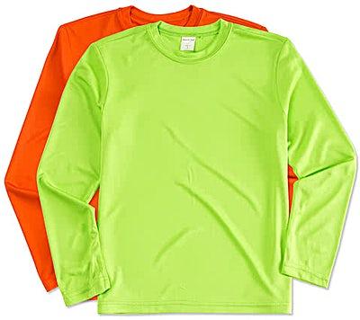 Sport-Tek Youth Competitor Long Sleeve Performance Shirt