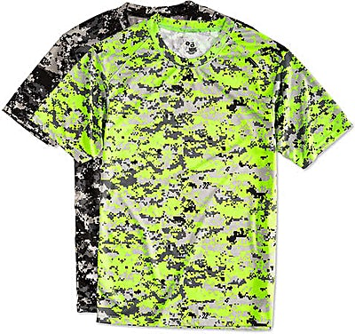 Badger Digital Camo Performance Shirt