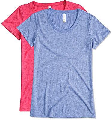 Bella + Canvas Women's Slim Fit Tri-Blend T-shirt