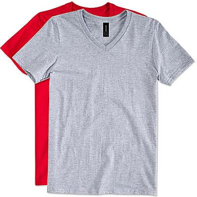 Canada - Gildan Softstyle Jersey V-Neck T-shirt