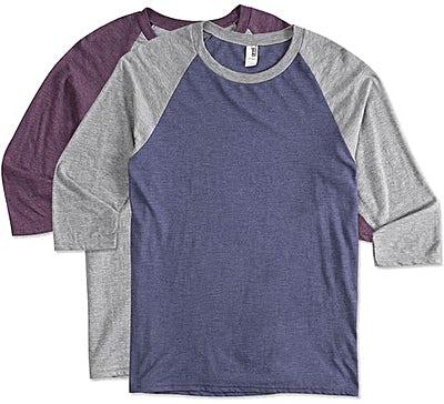 Anvil Tri-Blend Raglan T-shirt