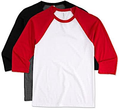Bella + Canvas Lightweight Raglan T-shirt