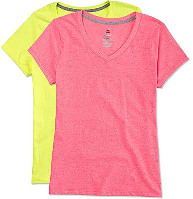 Hanes Women's X-Temp V-Neck T-shirt