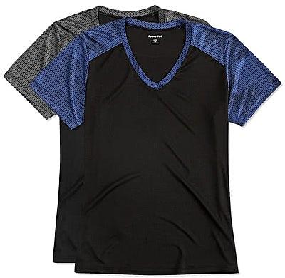 Sport-Tek Women's CamoHex Colorblock Performance Shirt