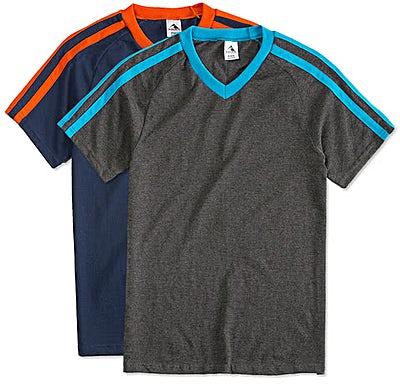 Augusta Shoulder Stripe Jersey T-shirt