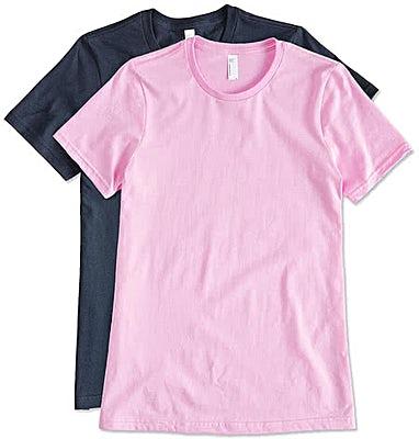 American Apparel USA-Made Ladies Jersey T-shirt