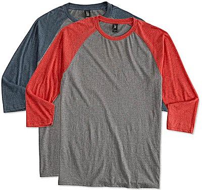 District Tri-Blend Raglan T-shirt