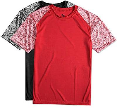 Badger Heather Sleeve Performance Shirt