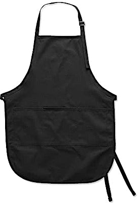 Port Authority Stain Release Full Length Apron - Screen Printed