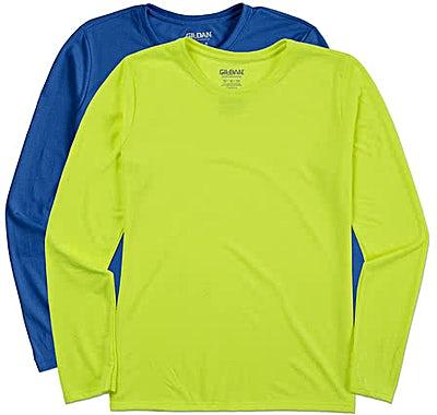 Gildan Women's Soft Jersey Long Sleeve Performance Shirt
