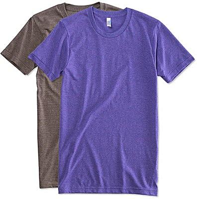 American Apparel Tri-Blend Track T-shirt