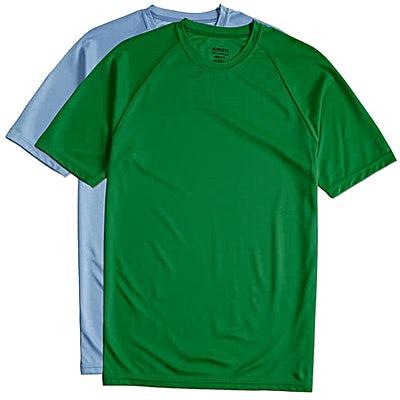 Augusta Attain Short Sleeve Raglan Performance Shirt